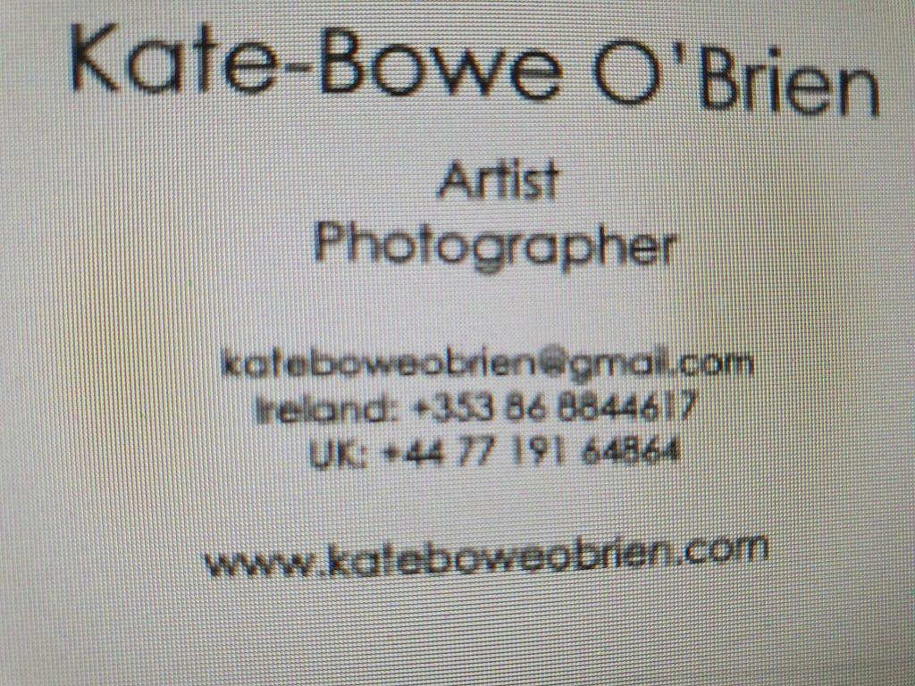 Kate Bowe O'Brien